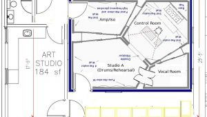 Home Studio Design Plans Awesome Home Recording Studio Design Plans Gallery Home