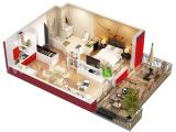 Home Studio Design Plans Studio Apartment Floor Plans
