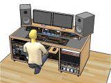 Home Studio Desk Plans 25 Best Studio Desk Ideas On Pinterest Recording Studio