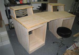Home Studio Desk Plans Home Studio Production Desk Blueprints Aboriginal59lyf