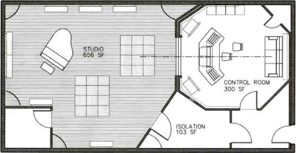 Home Studio Floor Plan Stunning Recording Studio Floor Plans 726 X 379 60 Kb