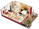 Home Studio Plans Studio Apartment Floor Plans