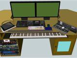 Home Studio Plans Woodwork Home Studio Desk Plans Pdf Plans