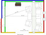 Home theater Floor Plan Home theater Plans Smalltowndjs Com
