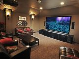 Home theater Plans Small Room Small Home theater Room Ideas Red Color Curve Shape sofas