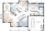 Home theatre Design Plans Flowing Living Spaces and A Home theater 2159dr 1st
