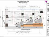 Home theatre Plan Custom Home theater Design Build Installation Los Angeles
