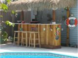 Home Tiki Bar Plans Beach Tiki Bar Ideas for the Home Backyard Coastal