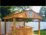 Home Tiki Bar Plans Tiki Bar for the Home Pinterest