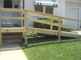 Home Wheelchair Ramp Plans Small Front Porch with Wheelchair assess Wooden Porch