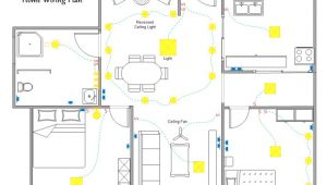 Home Wiring Plan Home Wiring Plan software Making Wiring Plans Easily