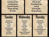 Home Work Out Plans Daily Workout Plan In or Out Of the Gym Motivation Board