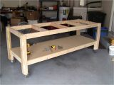 Home Workbench Plans I Like the Casters On This One Mobile is Good Garage