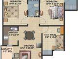 Homes Of Integrity Floor Plans 1175 Sq Ft 2 Bhk Floor Plan Image Ajnara Integrity