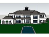 Homes Of the Rich Floor Plans Another Homes Of the Rich Reader S Google Sketchup Mansion