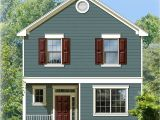 Homes Photos with Plans Two Story Traditional House Plan 82083ka Architectural