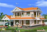 Homes Plans and Design Beautiful 2 Storied House Design 2490 Sq Ft Kerala
