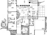 Homes with atriums Floor Plans House Plans with atriums In Center