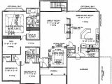 Homes with atriums Floor Plans Ranch Floorplans