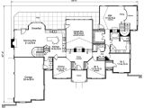 Homes with atriums Floor Plans Stylish atrium Ranch House Plan with Class 57134ha 1st