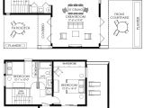 Homes with Floor Plans Contemporary Small House Plan 61custom Contemporary