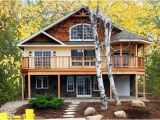 Homes with Walkout Basement Plans Lakefront House Plans with Walkout Basement Beautiful Lake