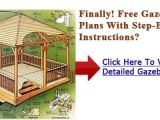 Hot House Plans Free Hot Tub Gazebo Plans Free