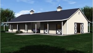 House and Barn Combination Plans This is Interesting House Barn Combo