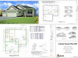 House Construction Plans Homes Autocad House Plans Building Plans Online 77970