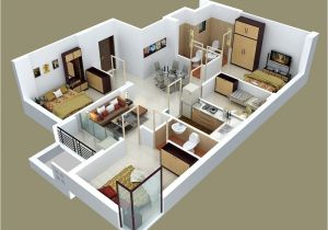 House Design Plans 3d 4 Bedrooms 50 Four 4 Bedroom Apartment House Plans Architecture