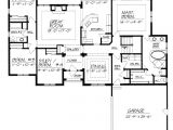 House Floor Plans with No formal Dining Room One Story House Plans without Dining Room Home Deco Plans