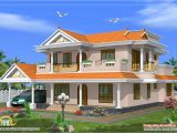 House Home Plans Beautiful 2 Storied House Design 2490 Sq Ft Kerala
