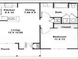 House Plan 2 Bedroom 1 Bathroom 2 Bedroom 1 Bath Floor Plans 2 Bedroom 2 Bathroom 3