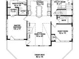 House Plan 2 Bedroom 1 Bathroom 653775 Two Story 2 Bedroom 2 Bath Country Style House