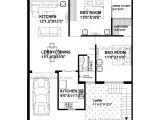House Plan for 15 Feet by 60 Feet Plot 15 60 Plot Design House Floor Plans