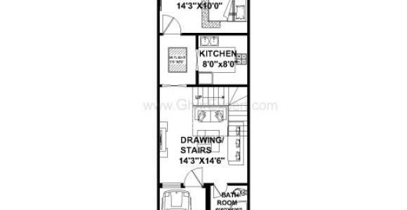 House Plan for 15 Feet by 60 Feet Plot Best House Plan for 16 Feet 54 Feet Plot Plot Size 96