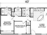 House Plan for 20×40 Site Second Unit 20 X 40 2 Bed 2 Bath 800 Sq Ft Little