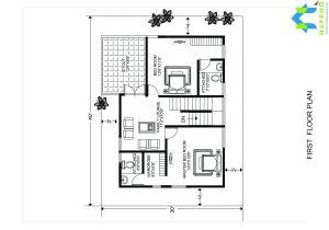 House Plan for 30 Feet by 40 Feet Plot 1 Bhk Floor Plan for 20 X 40 Feet Plot 800 Square Feet