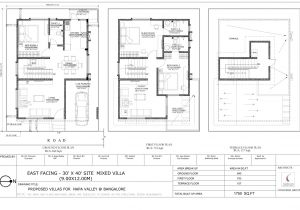 House Plan For 3040 Site 3040 East Facing Vastu Home Everyone Will
