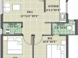 House Plan for 600 Sq Ft In India 600 Sq Ft 2 Bhk Floor Plan Image Annai Aathika Available