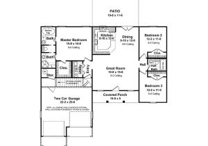House Plans 1400 to 1500 Square Feet 1400 Square Feet House Plans Homes Floor Plans