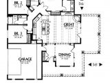 House Plans 1600 to 1700 Square Feet Adobe southwestern Style House Plan 3 Beds 2 Baths