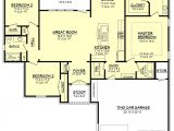 House Plans 1600 to 1700 Square Feet European Style House Plan 3 Beds 2 Baths 1600 Sq Ft Plan