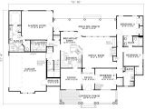 House Plans 2500 Sq Ft One Story 2500 Sq Ft One Level 4 Bedroom House Plans First Floor