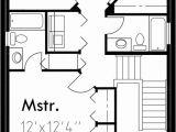 House Plans 3 Car Garage Narrow Lot Narrow Lot House Plans House Plans with Rear Garage 9984