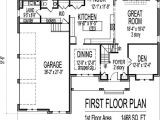 House Plans 3000 to 4000 Square Feet Arts and Crafts Two Story 4 Bath House Plans 3000 Sq Ft W