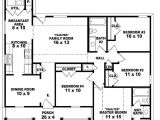 House Plans 4 Bedrooms One Floor 4 Bedroom House Plans One Story Joy Studio Design