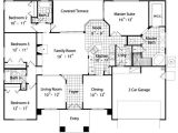 House Plans 4 Bedrooms One Floor House Floor Plans Bedroom Bath and Bedroom House Plans