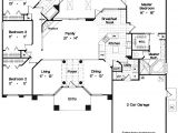 House Plans 4 Bedrooms One Floor One Story Open Floor Plans with 4 Bedrooms Elegant One
