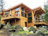 House Plans Built for A View Pan Abode Cedar Homes Custom Cedar Homes and Cabin Kits